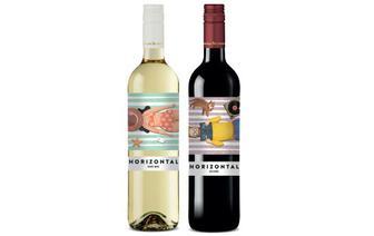 Вино Horizontal White/Red, 0,75 л