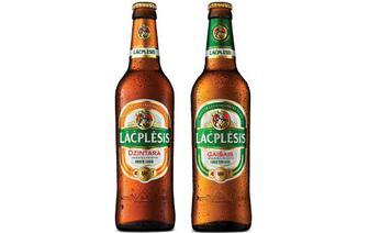 Пиво Lacplesis Dzintara янтарне/Gaisais світле,  0,5 л