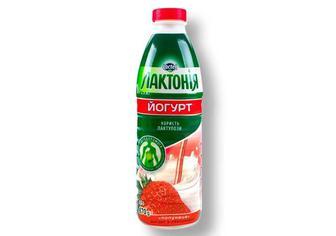 Йогурт клубника, 1,5%, Лактонія 870 г