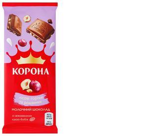 Шоколад молочний Корона, 85г