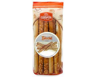 Палички хлібні «Рум'янець» «Гріссіні» з сіллю, 200г