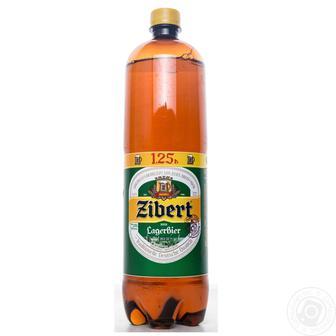 Пиво Светлое Зиберт 1,25 л