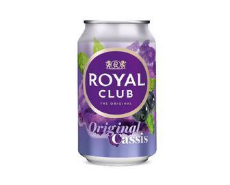 Напій Royal Club безалкогольний газований, Чорна смородина, 0,33 л