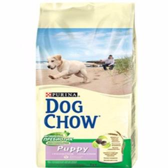 Share DC Puppy Lamb Для щенков с ягненком Purina Dog Chow 14 кг