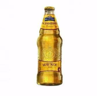 Пиво світле М'яке розливне Балтика 0,9 л