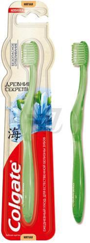 Зубна щітка Colgate Стародавні секрети Безпечне відбілювання м'яка