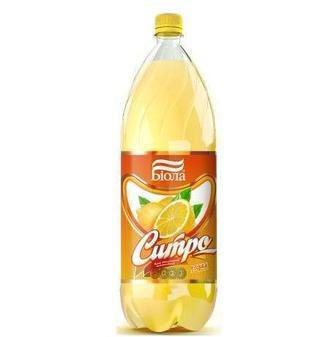 Вода солодка Чамбо, Сітро або Лимонад Біола 2 л