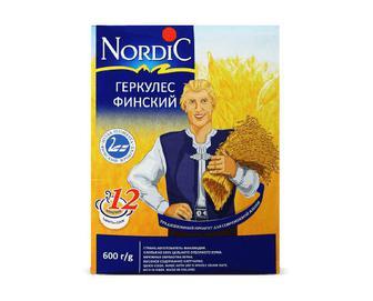 Пластівці Nordic вівсяні «Геркулес фінський» 600г