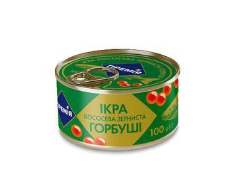 Ікра лососева «Премія»® зерниста горбуша, 100г