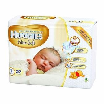 Підгузники Huggies Elite Soft