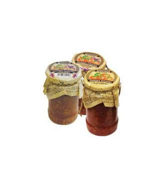 Аджика томатная острая нежная острая с базиликом Домашний кошик 340 г