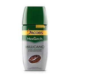 Кава розчинна Jacobs Міллікано 95 г Амерікано