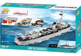 Конструктор Cobi World Of Warships Есмінець Блискавіца (Cobi-3080)