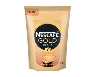 Кава розчинна Nescafe Gold Crema, 100г