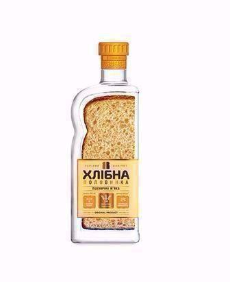 Горілка житня або пшенична   Хлібна половинка   0,45 л