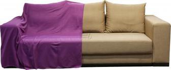 Плед 150x180 см фіолетовий UP! (Underprice)