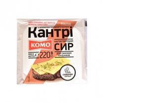 Сыр Кантри нарезка, КОМО, 220г
