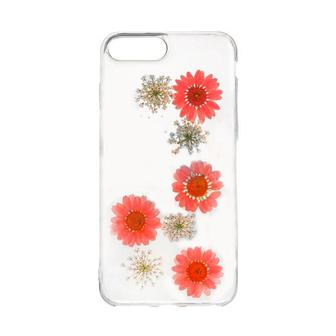 Natural Flowers Case for Xiaomi Redmi 4a Red