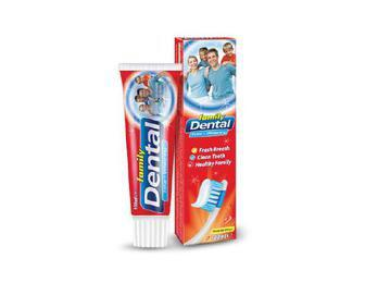 Паста зубна Dental Family комплексний захист і відбілювання, 100 мл