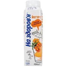 Йогурт питний 1,5%, На здоров'я, 290 г