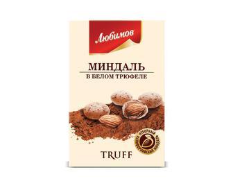 Драже Любимов,Truff мигдаль у білому трюфелі, 100 г