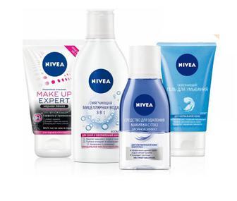 Засоби очищення шкіри обличчя Nivea