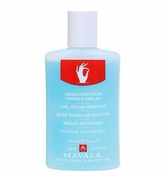 Жидкость Mavala Blue для снятия лака с ацетоном 100 мл