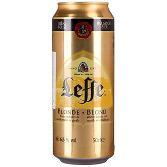 Пиво Blonde, Brune Leffe, 0,5 л