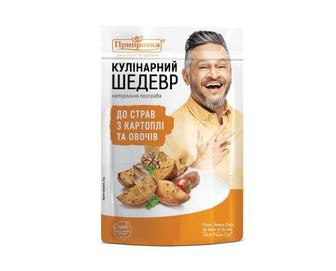 Приправа «Приправка» до страв з картоплі та овочів, 30г