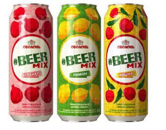 Пиво Бир-Микс Оболонь 0,5 л