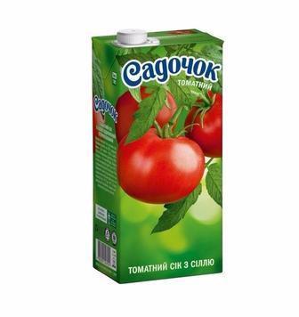 Нектар Садочок томатний 0.95л