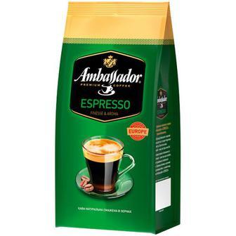 Кава Ambassador Espresso в зернах 900г