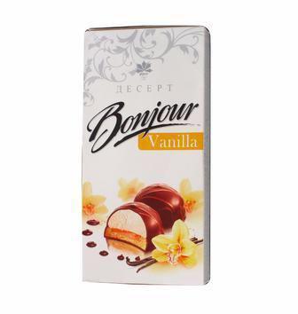 Десерт Бонжур класичний, ваніль, лікер Конті 232г