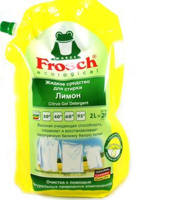 Засіб для прання Frosch Цитрус рідкий, 2 л