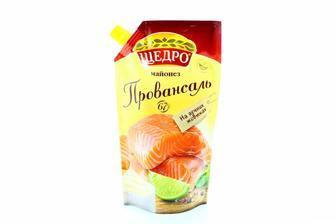 Майонез провансаль 67% Щедро 350г