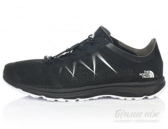 Кросівки THE NORTH FACE LITEWAVE FLOW LACE T92VV2KY4 р. 10.5 чорний