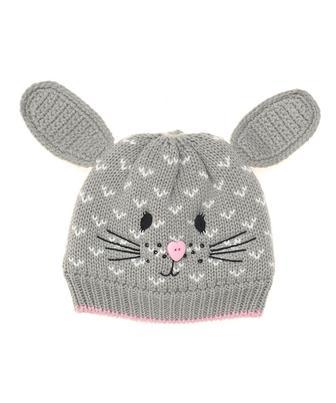 Сіра шапочка із зайченям від Mothercare