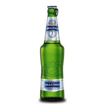 Пиво світле N7 Балтика 0,5 л