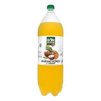 Напій Ананас-кокос Бон Буассон 2л