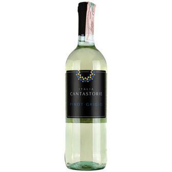 Вино Cantastorie Pinot Grigio біле сухе 0,75л