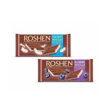 Шоколад з нугою Рошен 90г