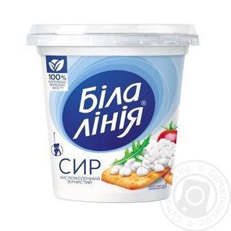 Сир зернистий Біла Лінія 4% 300г