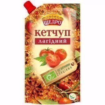 Кетчуп Шашличний/Лагідний Щедро 300г
