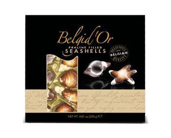 Цукерки Belgid'Or Seashells праліне, 250г