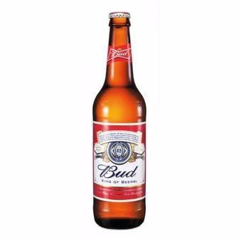 пива Bud светлое фильтрованное 4.8% 0.5 л