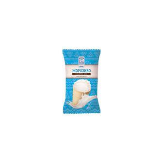 Морозиво Лімо класичне біле у вафельному стаканчику 60г