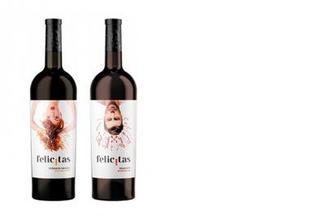 Вино красное/белое п/с Feteasca Neagra/Traminer, Felicitas, 0,75л