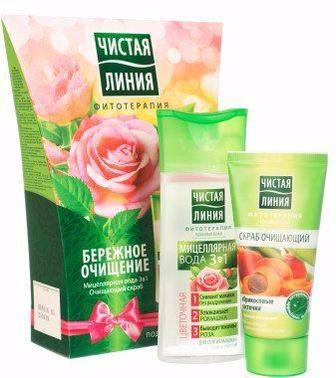 Засоби для догляду за волоссям, обличчям та тілом Чистая Линия