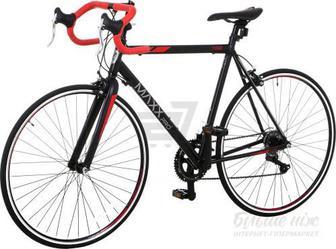 """Велосипед MaxxPro 22""""(56 см) 100 чорний із червоним"""