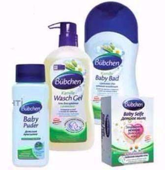 Засоби для догляду за дитиною Bubchen